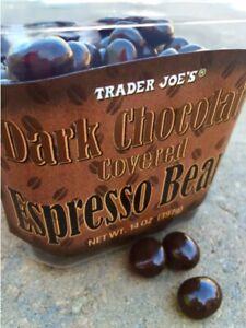Trader Joe's Dark Chocolate Covered Espresso Beans 14 oz ...