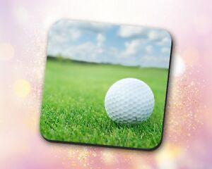Black Sports ~ Soccer Balls White Gift Decor ~ Vivid Coaster Close Up