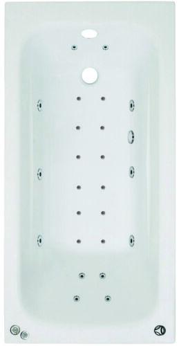Phoenix Crystal 1400 x 700mm 24 Jet Whirlpool Special Offer Jacuzzi Bath