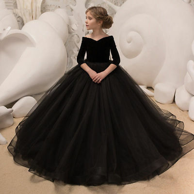 Flower Girl Dresses for Wedding Birthday Princesses Prom BallGown Pageant Party+