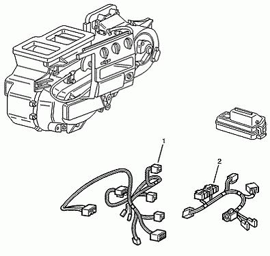 Miraculous Genuine Peugeot Boxer Mk2 Heater Harness Wiring Looms 6445Wp Ebay Wiring Digital Resources Skatpmognl