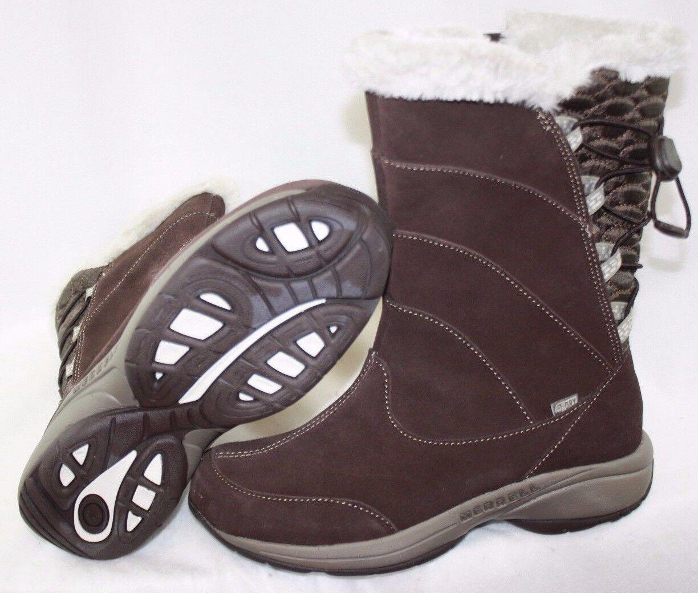 Nueva camiseta para para para mujer Impermeables Merrell jovilee Alp J227322C marrón botas Zapatos Sin Caja 62bf5b