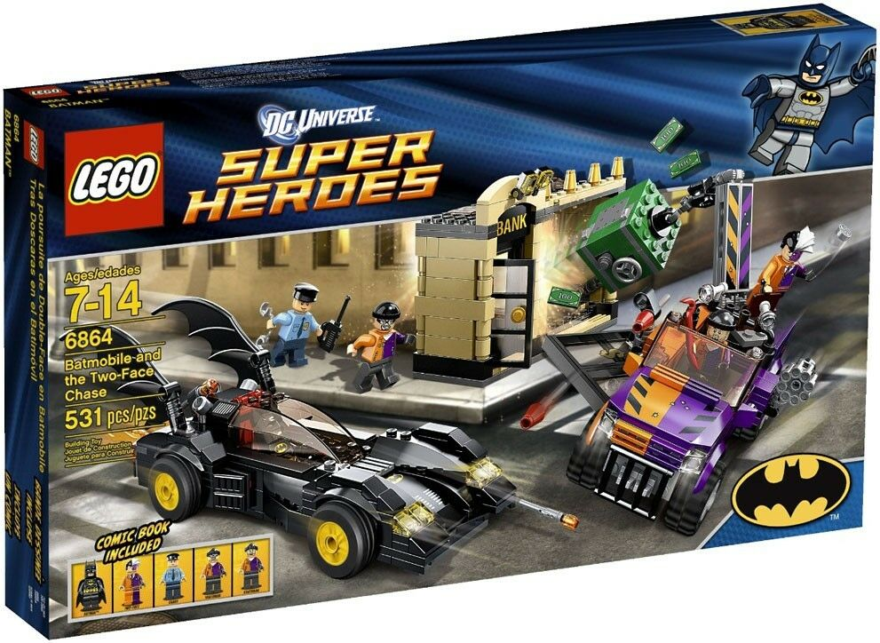 LEGO DC Universe Super Heroes Batmobile and the Two-Face Chase Set