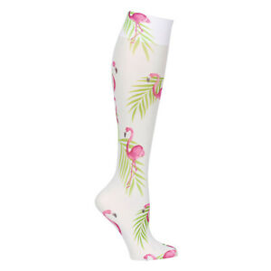 Celeste-Stein-Mild-Compression-Knee-High-Stockings-Wide-Calf-Flamingo