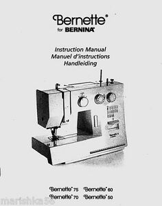 Bernina bernette 50 60 70 75 instruction book operating manual cd image is loading bernina bernette 50 60 70 75 instruction book fandeluxe Gallery