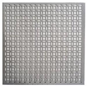 12x12 Silver Colored Aluminum Metal Sheet Elliptical Design | eBay
