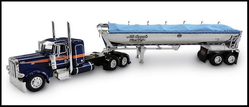 DCP todas las temporadas camiones camiones camiones Peterbilt 389 36 Durmiente Mac final volcado 1 64 Diecas 33982 292d43