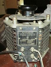Vintage The Superior Electric Co Powerstat Variable Transformer Type 1126
