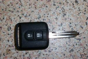 Nueva-Sin-Cortar-Nissan-Micra-K12-Nota-Navara-Qashqai-2-boton-remoto-clave-Q1Q