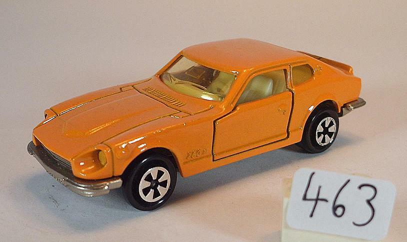 Majorette 1 60 no 229 Datsun 260z Coupe orange