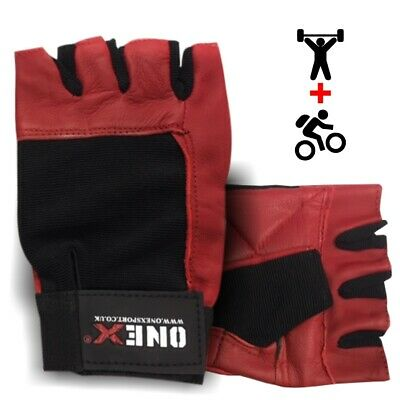Genial Adult/kids Cycling Gloves Half Finger+fitness Gym Weight Lifting Gloves Sports