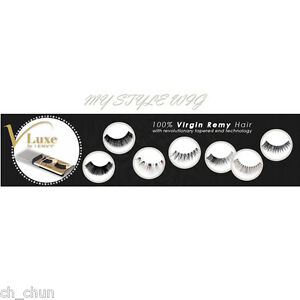 7d8576b430b Image is loading VLuxe-100-Virgin-Remy-Eyelashes-I-Envy-By-