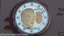 2 euro 2010 Fs BE PP proof specchio LUSSEMBURGO Luxembourg Luxemburg Luxemburgo