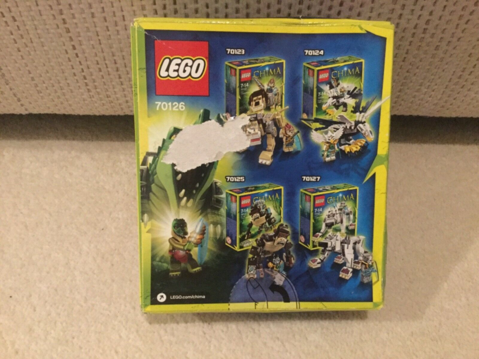 LEGO LEGO LEGO 70126 CROCODILE LEGEND BEAST 286337