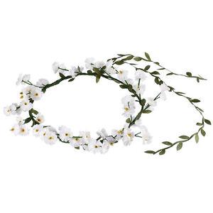 Boho-Lady-Girl-Women-Floral-Flower-Festival-Wedding-Garland-Hair-Band-Headband