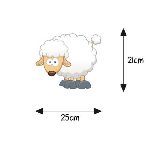 Siège Wc Couvercle Sticker Autocollant Salle de Bain Toilettes Mouton