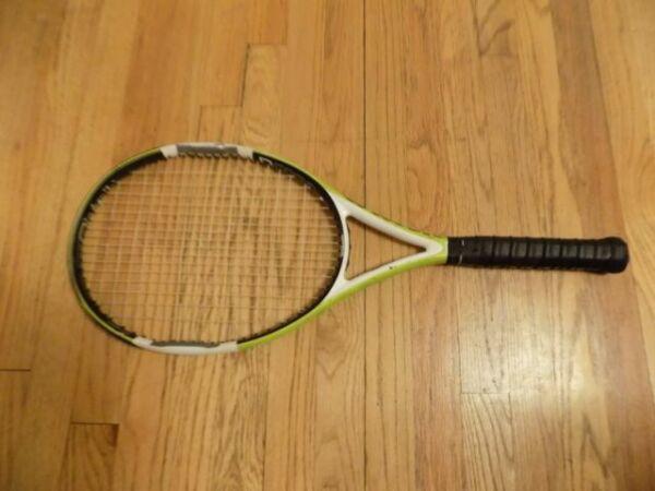 Wilson Tennis Racket Surge 100 allcourter tuned handle size CVR1 4 1//8 Unisex