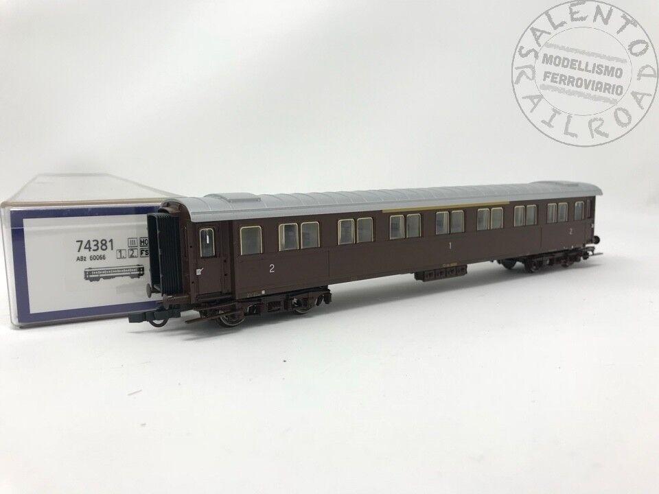ROCO 74381 carrozza passeggeri FS serie 10000 mista 1  e 2  classe Ep. III