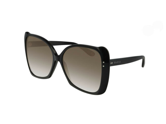 1d78d2d65ee Gucci Gg0471s 001 Black Frame Grey Gradient Sunglasses Authentic for ...