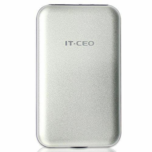 "Allcam USB 3 Portable External Hard Drive Enclosure for 2.5/"" Laptop SATA Silver"