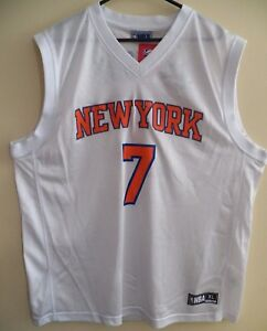 92540eef4079 NBA Men s XL Jersey ~ New York Knicks Carmelo Anthony  7   White ...