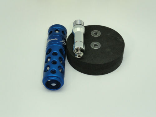 UJ T052 B type T-BAR handle knob for Accurate Boss BX FX Fury Extreme reels BLUE