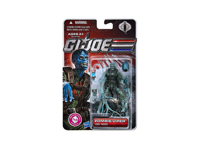 GI JOE    30th Anniversary Action Figure   Zombie Viper   Wave 4   Mint