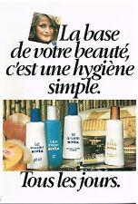 Publicité Advertising 1976 Cosmétique Lait et Lotion Nivea