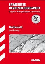 Erweiterte Berufsbildungsreife Brandenburg - Mathematik mit Lösungsheft