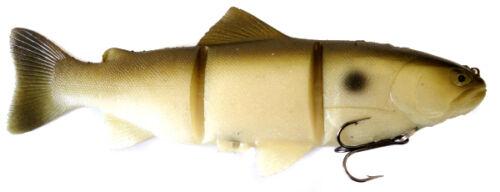 "Castaic Platinum Swimbait Floater Green Shad 8/"" Bass Fishing Swimbait Lure"