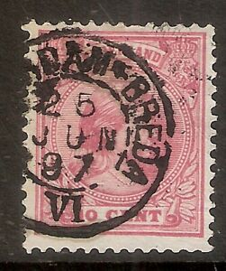 Nederland-Kleinrondstempel-op-NVPH-nr-37