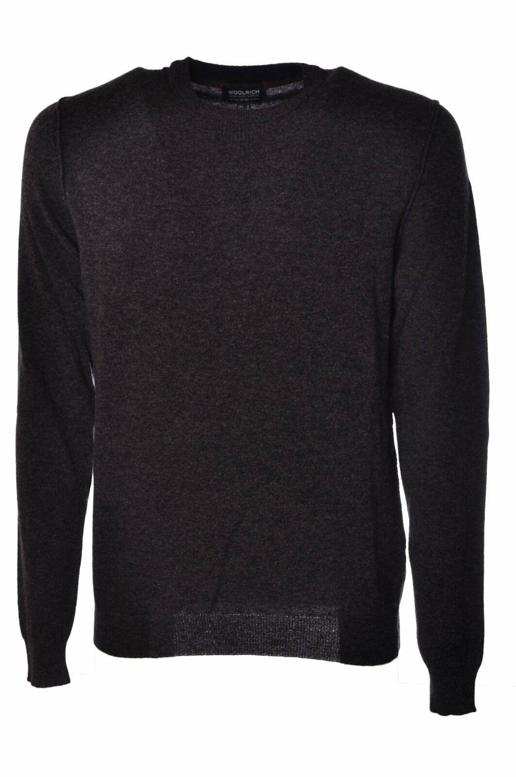 Woolrich  -  Sweaters - Male - Grau - 2638028N173530