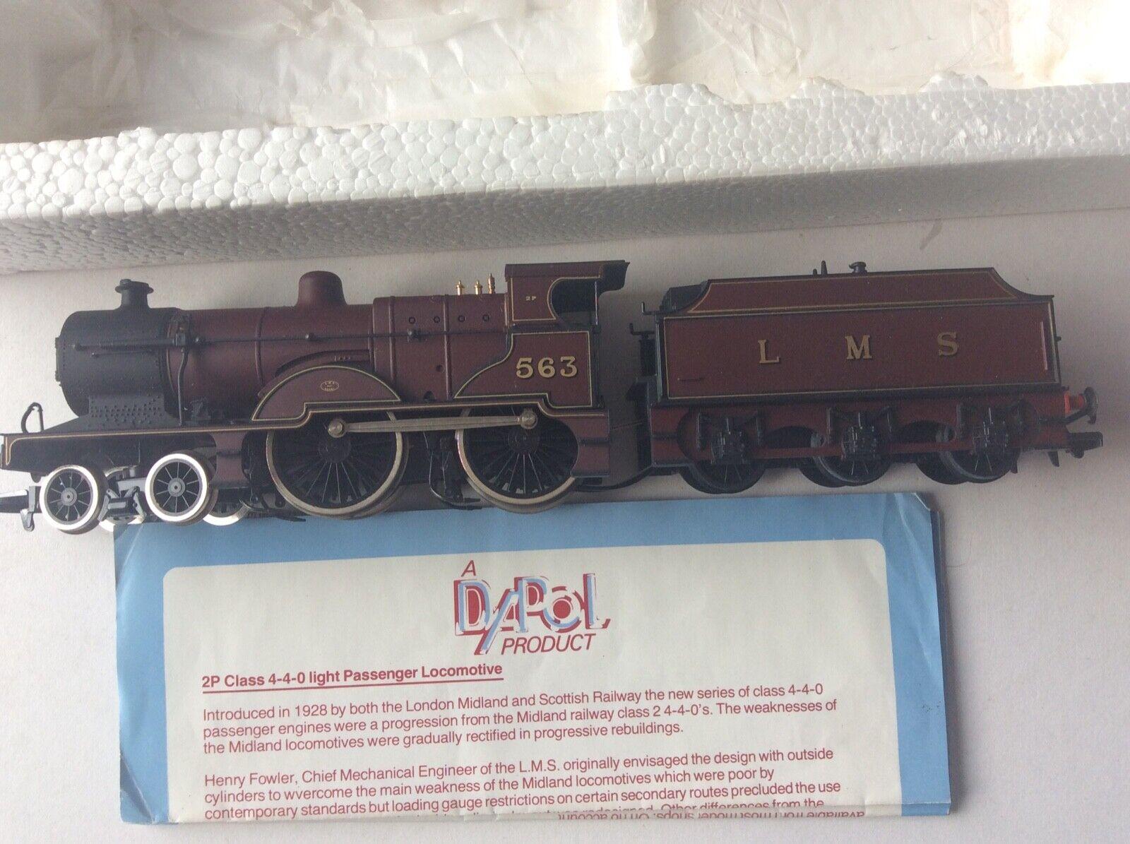 Dapol LMS classe 2P 440 Maroon Ssquadra Locomotive scatolaed Mint