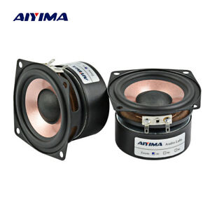 AIYIMA-2PC-2-5Inch-Audio-Speaker-4Ohm-8Ohm-8-15W-HIFI-Full-Range-Loudspeaker