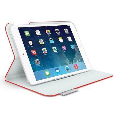 N Logitech Folio Protective Case for iPad Mini - Mars Red Orange