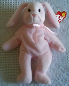 Hoppity the Bunny Rabbit, Ty Original Beanie Baby, 1996, Excellent cond.