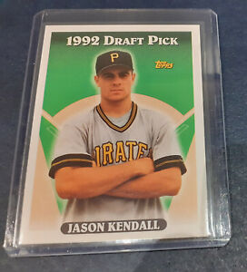 1993 Topps MLB Baseball - Jason Kendall Rookie Card #334 - Pittsburgh Pirates RC