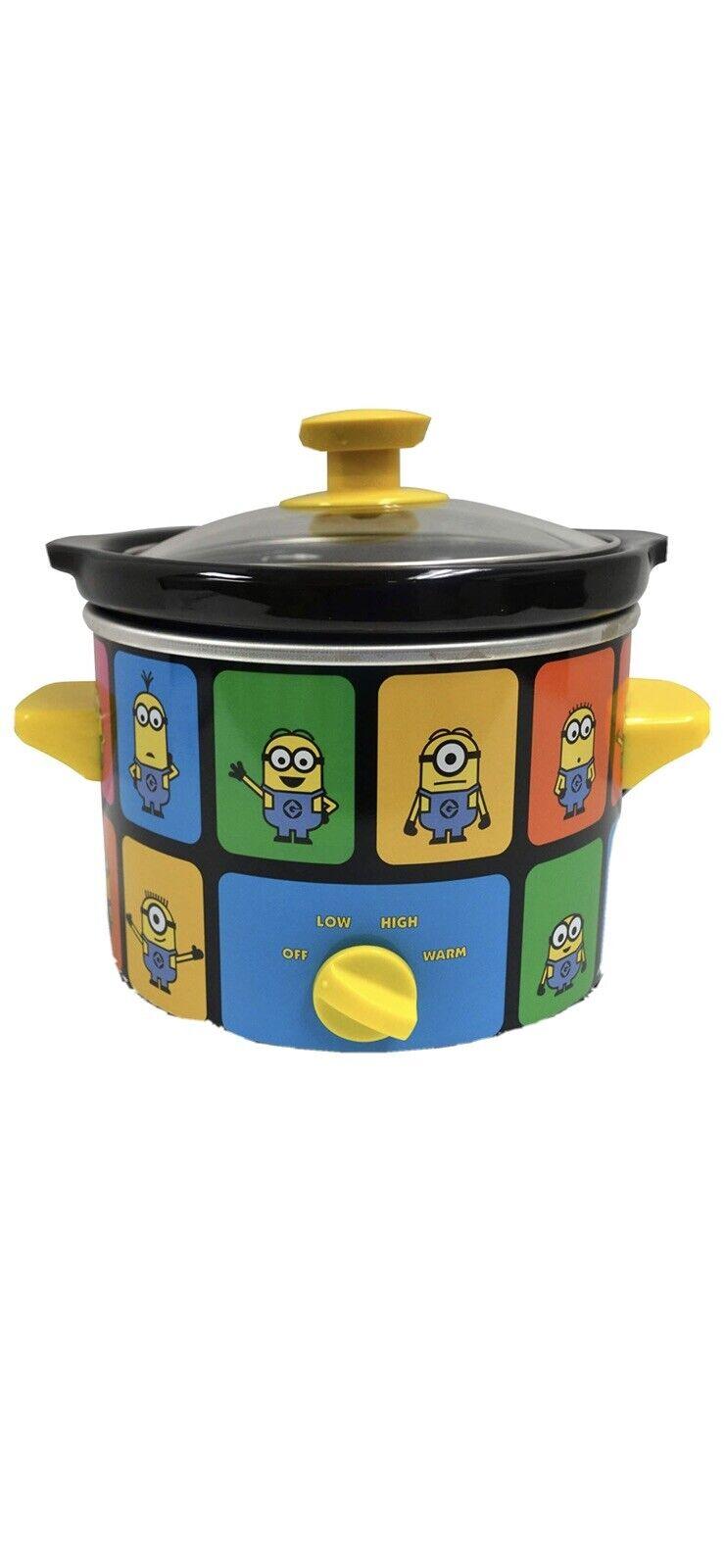 Uncanny Brands Minions 2 Quart Slow Cooker Kitchen Appliance For Sale Online Ebay