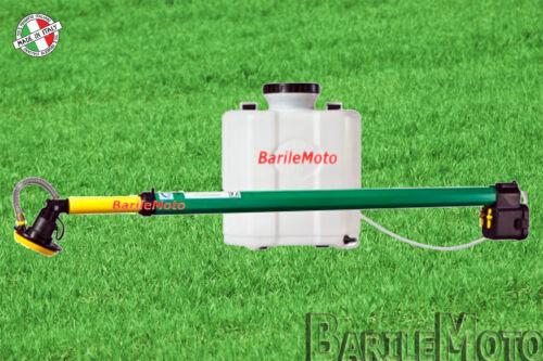 Micronizzatore Zaino Elettrico Batteria ATTILA 10 Litri Diserbo Leggera Pompa