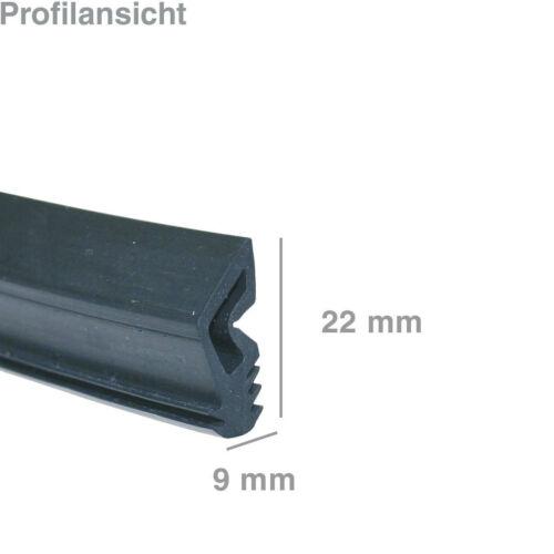 1740mm  AEG Türdichtung Dichtung dreiseitig Spülmaschine Electrolux 1171265026