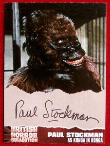 e594786964b Caricamento dell immagine in corso BRITISH-HORROR-COLLECTION-PAUL-STOCKMAN- as-KONGA-Autograph-