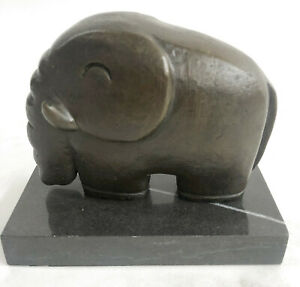 Surreal-modern-bronze-figure-Space-Elephant-sign-Salvador-Dali-Lost-Wax