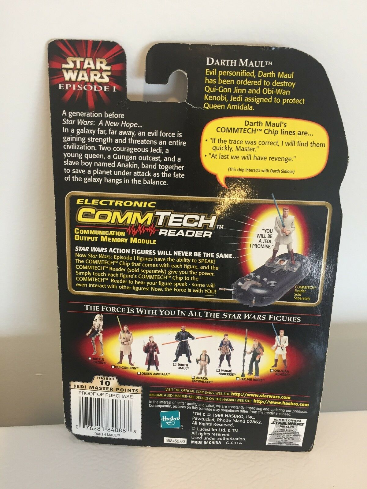 NEW Darth Maul Jedi Duel Duel Duel with Double-Bladed Lightsaber Action Figure Episode 1 2bc1fa