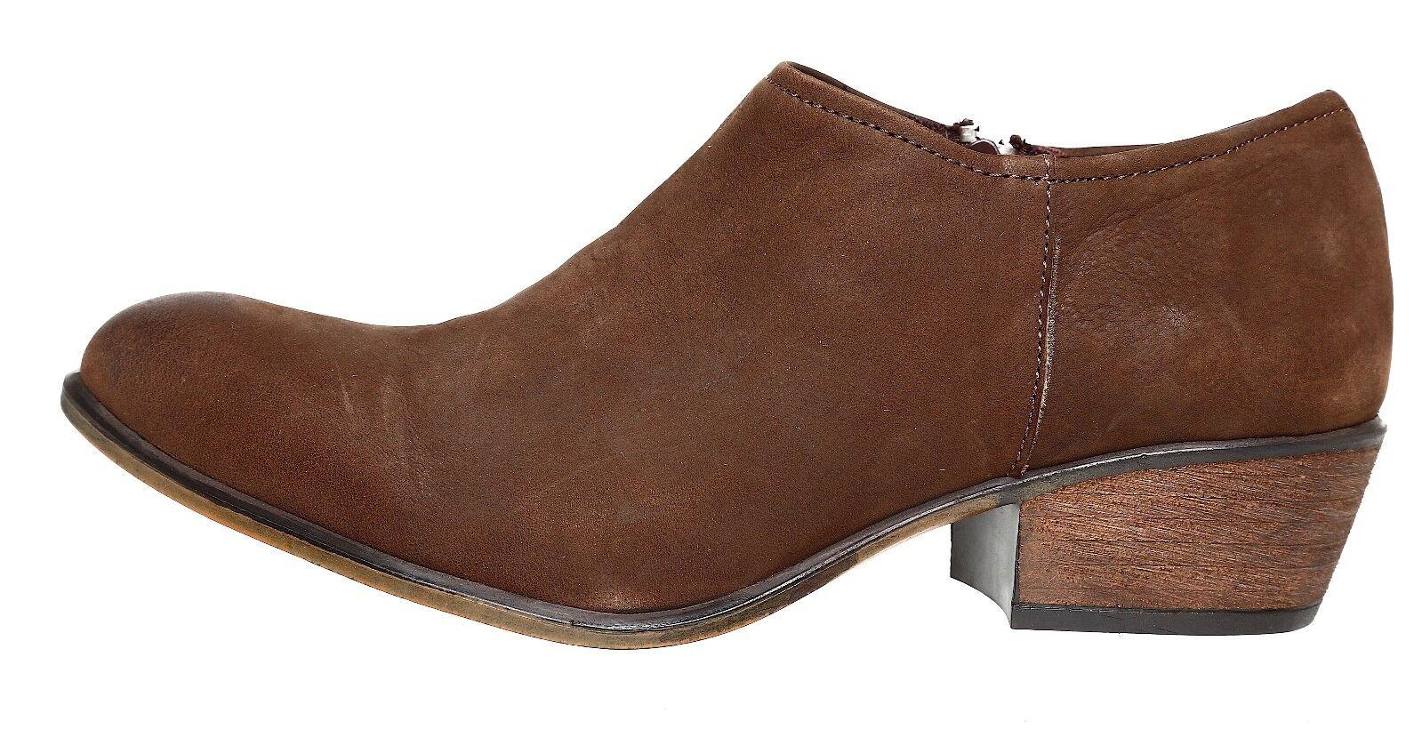 Steve Madden Katyy Leather Stiefel braun damen Sz 9 M 4068