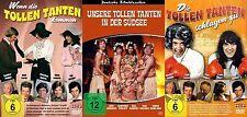 3x DIE TOLLEN TANTEN schlagen zu IN DER SÜDSEE Ilja Richter RUDI CARRELL DVD Neu