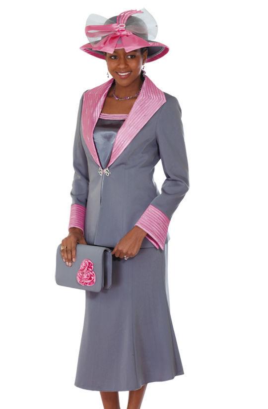 Lady's Dress Lynda's Classic Elegance Church 3 Piece Set Rosa Gary  sty