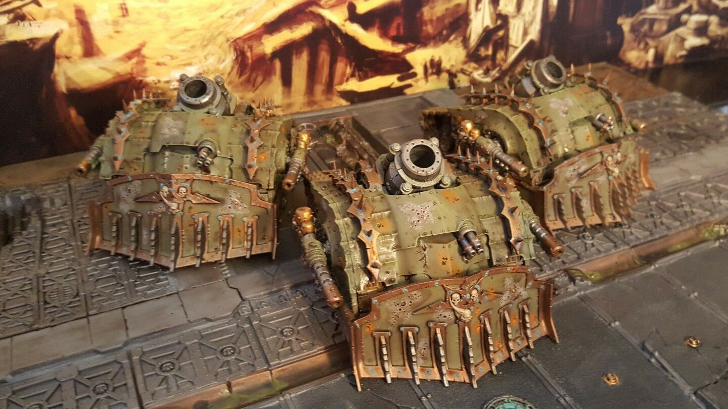 Warhammer death guard pro painted  plagueburst crawlers squadron made to order