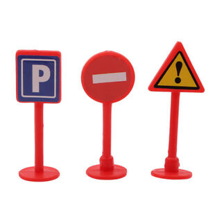 28pcs//set TOY TRAFFIC ROAD SIGNS PLAY SETS MODEL CAR TOWN Toys Kids Gigts