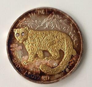 10-Dollars-2005-Liberia-Nepal-Snow-Leopard-Brillant-Augen-929