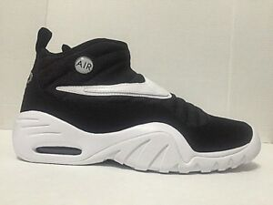 Nike Air Shake Ndestrukt Basketball Mens Shoes Black White 880869-002